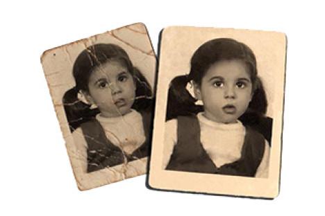 Restauració de fotografies
